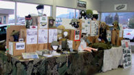 Smithers Remembrance display 2009